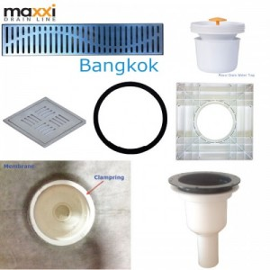 Maxxi Floor Drain Accessories