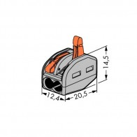 222 Wago Wire Connector 2-conductor