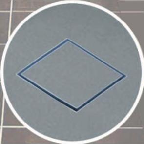 Tile Insert Gray