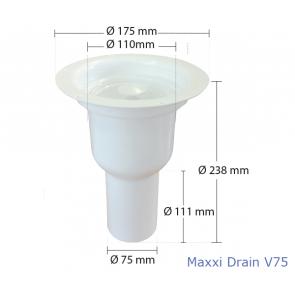 Maxxi Floor Drain V75