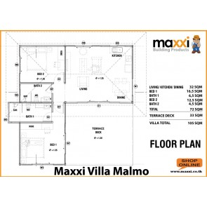 Maxxi Villa Malmo Turnkey Solution