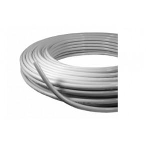 Multilayer pipe PE-RT/AL/PE-RT,white,supplied in coils
