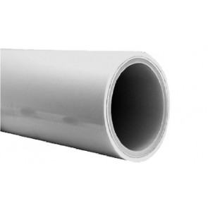 Multilayer pipe PE-RT/AL/PE-RT,white supplied in supplied in straight lengths a 5m