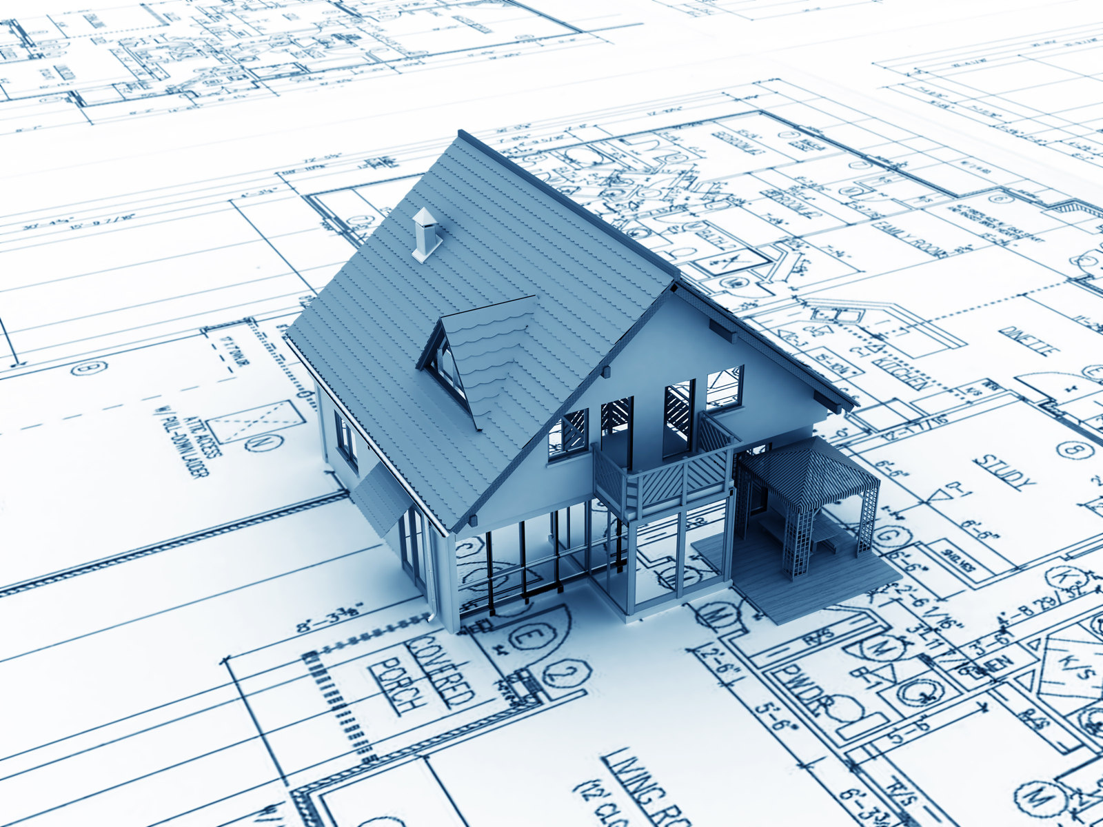 Building project for Be your own contractor for building a house