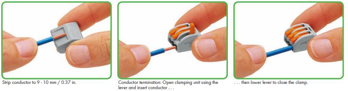 Wago wire connector 222